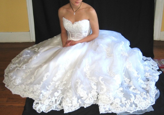 YES: You Can Wash And Dry Your Wedding Gown At Home!